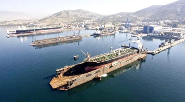 Κοινοπραξία με Γερμανική εταιρεία για τα ναυπηγεία Σκαραμαγκά;