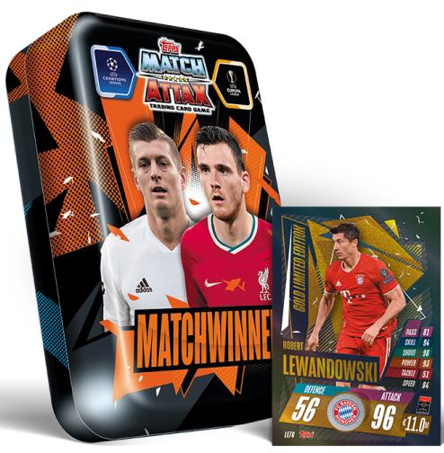 Tarjetas especiales Matchwinner edición limitada match coronó liga 2016//2017