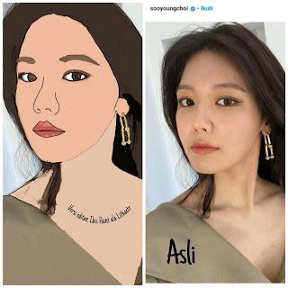 aktris yang juga idola kpop