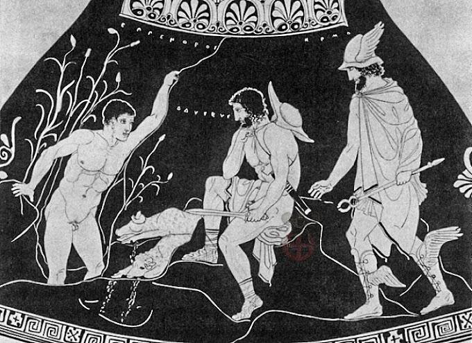 Ο Οδυσσέας όταν ταξίδεψε στον κάτω κόσμο στην ουσία είχε πάει Νότια Αμερική ;
