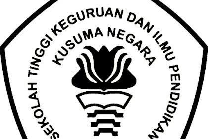 Logo SEKOLAH TINGGI KEGURUAN DAN ILMU PENDIDIKAN KUSUMA NEGARA JAKARTA