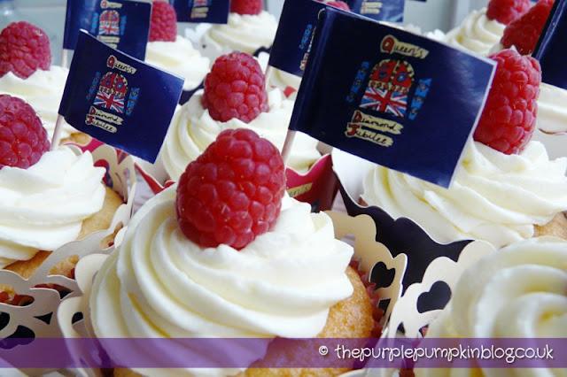 Lemon & Raspberry Cupcakes - Diamond Jubilee