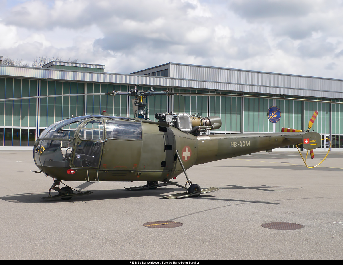 FEBE *** BernAirNews.ch ©: HB-XXM, Sud-Aviation SE 3160 ...