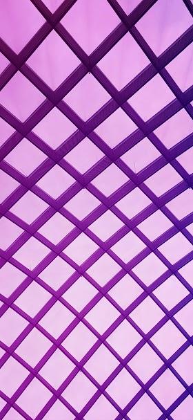 خلفية شبكة مربعات هندسية متناسقة بنفسجية اللون