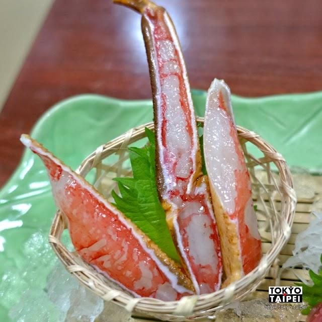 【札幌螃蟹本家】螃蟹會席料理 享受生吃、水煮、油炸等各種烹調方式蟹肉