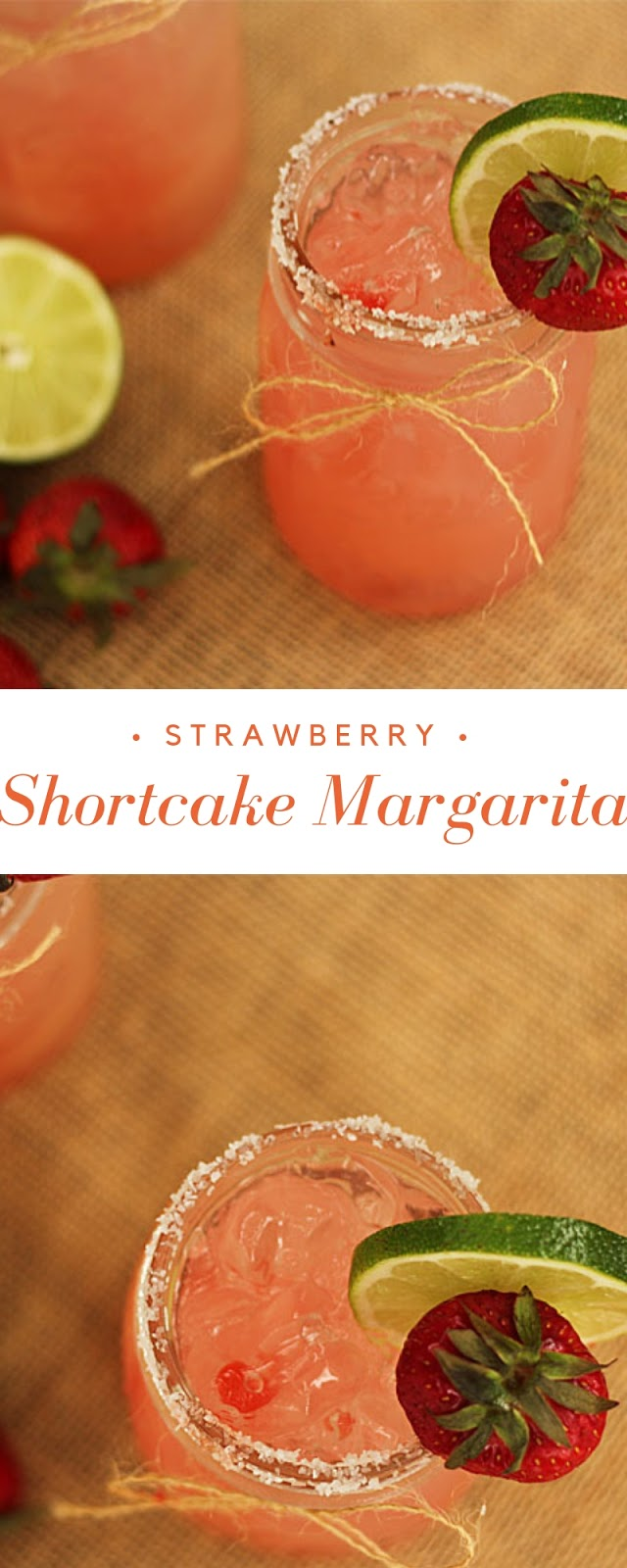 Strawberry Shortcake Margarita