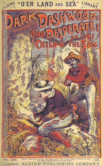Cover of Dark Dashwood the Desperate from British Library
