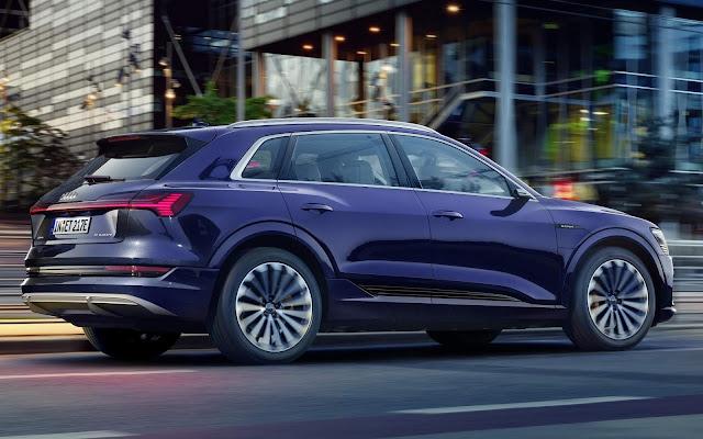 Audi e-Tron: atualização técnica leva autonomia para 436 km