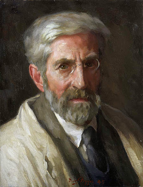 David Foggie, Portraits of painters, Self portrait