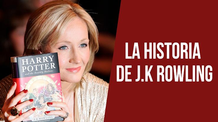 La historia de J.K. Rowling, la creadora de Harry Potter