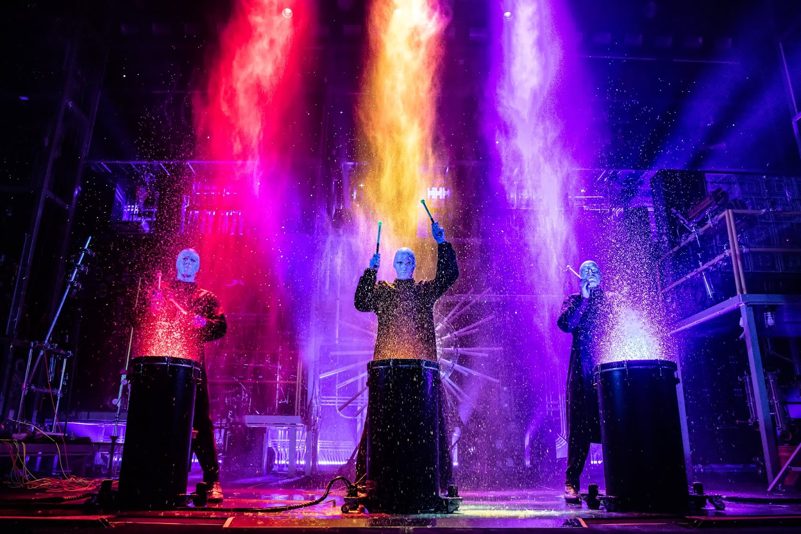 UPCOMING and GIVEAWAY: Blue Man Group, April 7-12 at the Fox Theatre {ends 3/16}