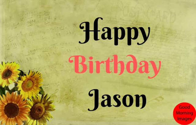 Happy Birthday images with name jason