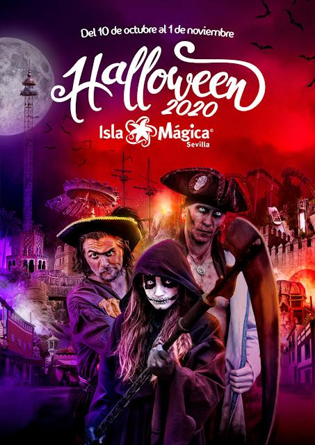 Halloween isla magica 2020