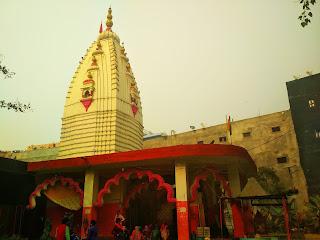 नॉएडा सेक्टर-२२ शिव दुर्गा धाम मंदिर में रामायण पाठ के कार्यक्रम का आयोजन हुआ - ६