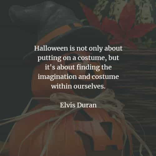 Halloween quotes to inspire thoughts of the spooky day
