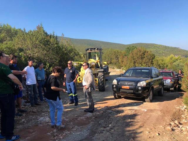 Μαλτέζος: 43 χιλιόμετρα δασικών δρόμων διανοίξαμε τους τελευταίους 6 μήνες στην Αργολίδα