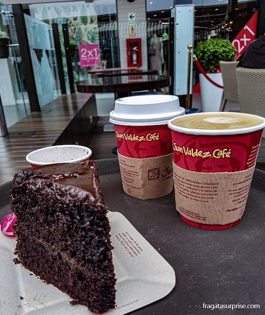Comer em Lima - Café Juan Valdez