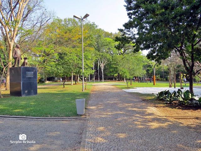 Vista da Praça Adolpho Bloch - Jardim América - São Paulo