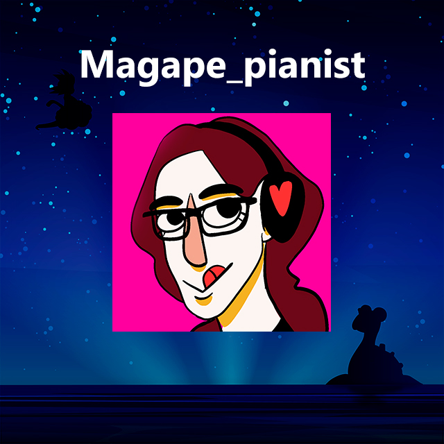 Imagen con el logotipo de Magape_pianist