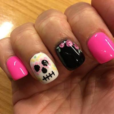 Awesome, Mylar Nails Art Ideas
