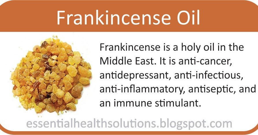 Essential Health Solutions Frankincense A Biblical Oil