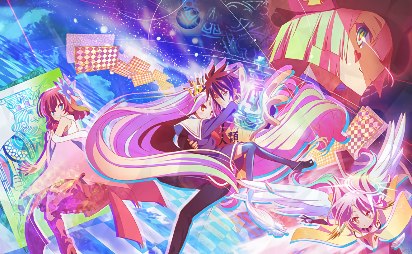 No Game No Life BD Subtitle Indonesia [x265]
