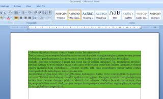 Cara Mudah Lainnya Copy Paste Teks Artikel ke Word yang benar