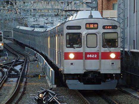 【廃車目前のレア行先】東急8500系の北越谷行き