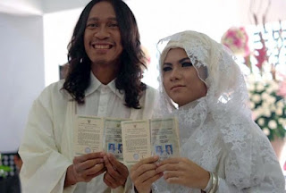 Belum Genap Sebulan Menikah, Istri Aming Hamil