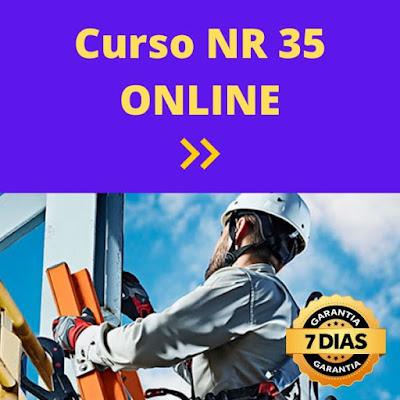 Curso Online de Trabalho em ALTURA (NR 35) - Segurança do Trabalho