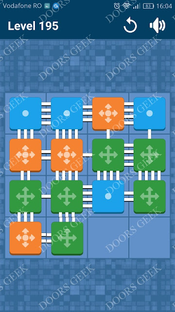 Connect Me - Logic Puzzle Level 195 Solution, Cheats, Walkthrough for android, iphone, ipad and ipod