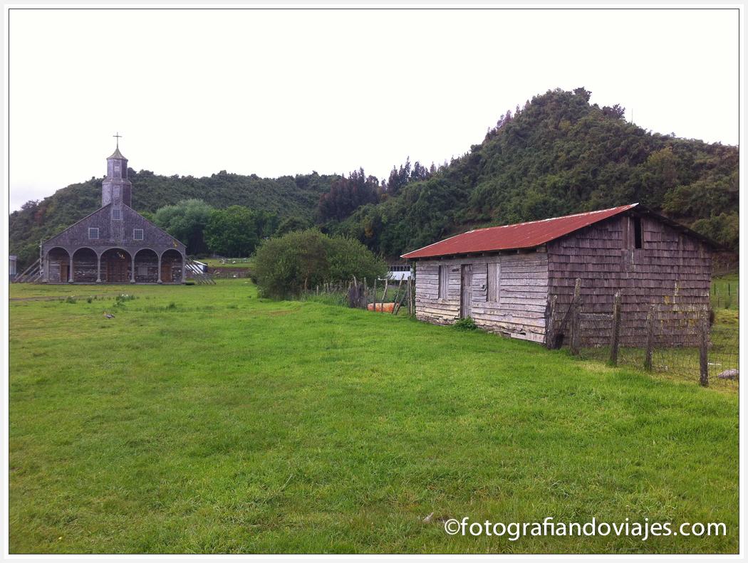 Iglesia de madera de Chiloe