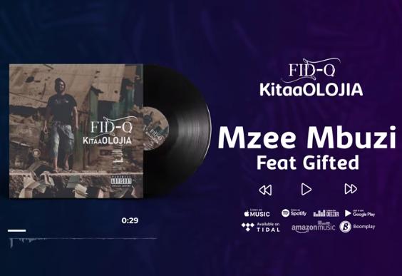 Fid Q - Mzee Mbuzi ft Gifted  (KItaaOLOJIA)