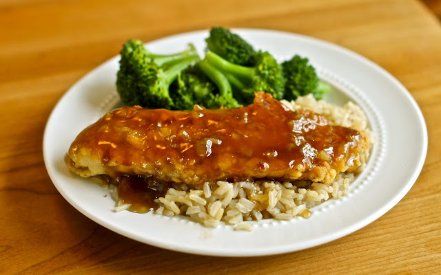 Crispy Honey Garlic Sweet and Sour Tilapia from Yammie's Noshery