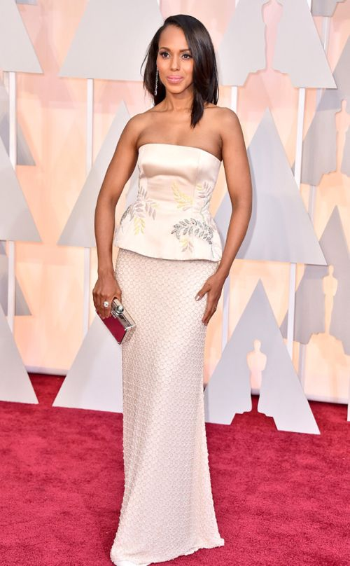 Kerry Washington in Miu Miu at the Academy Awards 2015