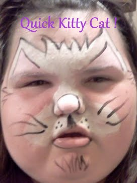 Tiaras And Bowties Face Painting Frenzy Kitty Cat