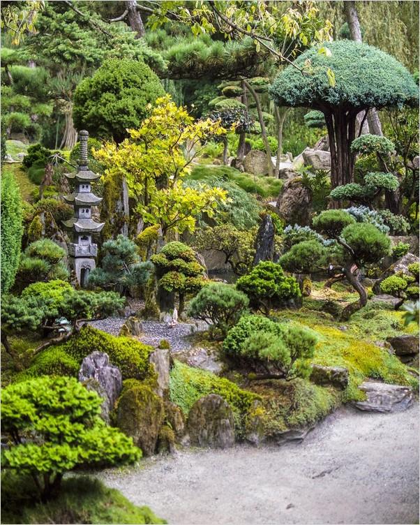 Japanese Botanical GARDEN   Home Interior Exterior Decor ...
