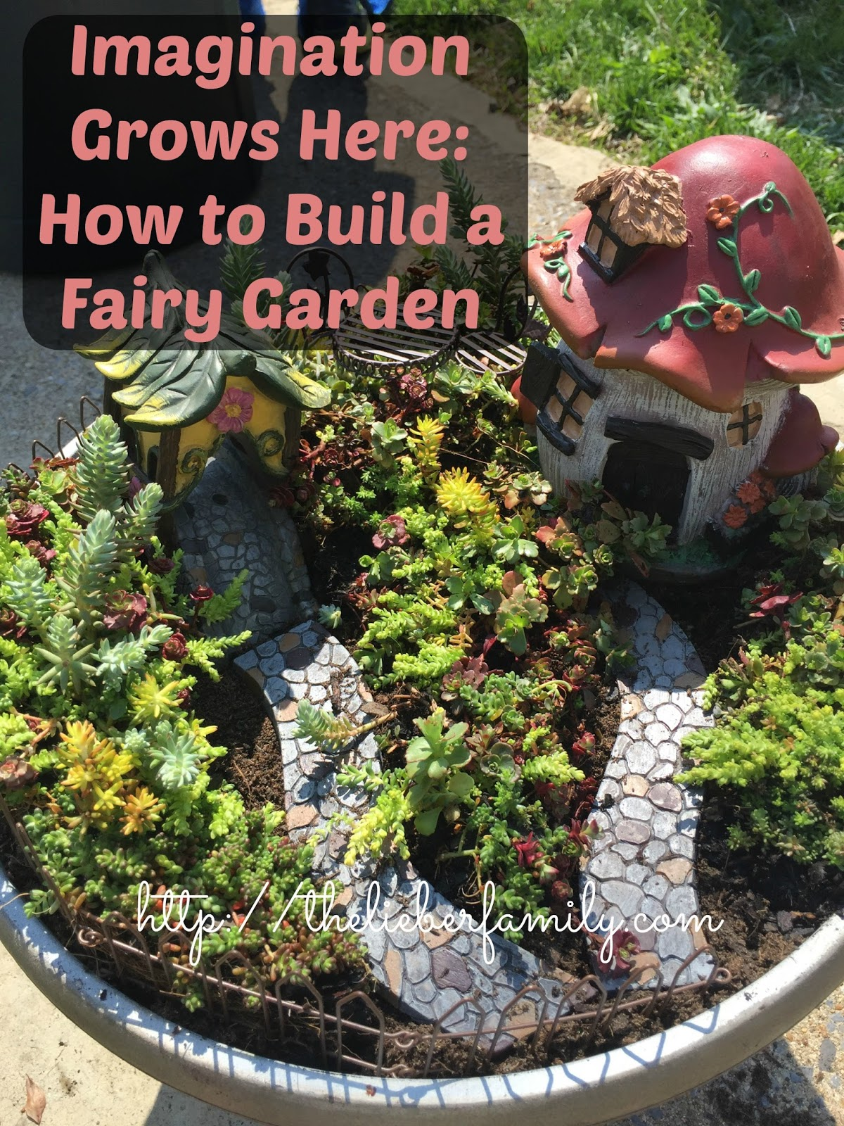 i imagination grows here how to build a fairy garden atozchallenge - How To Build A Fairy Garden