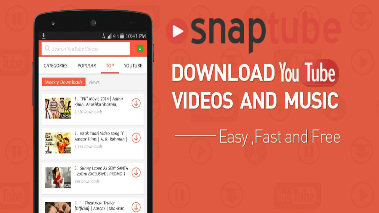 SnapTube VIP - YouTube Downloader HD Video