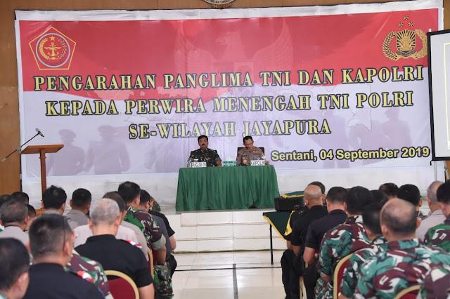 Panglima TNI : Berkat Kerja Sama TNI dan Polri Mampu Meredam Kerusuhan