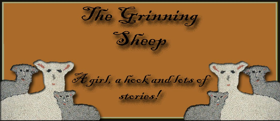 The Grinning Sheep Blog by Kathy of Briarwood Folk Art