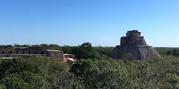 Visiter les ruines d'Uxmal et la Ruta Puuc en bus