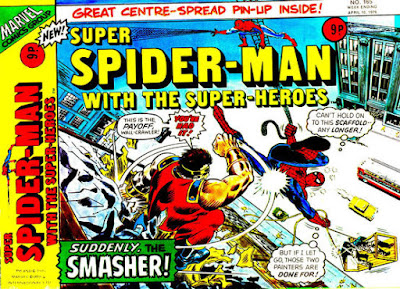 Super Spider-Man with the Super-Heroes #165, the Smasher