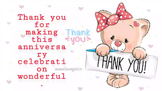 thank you for anniversary wishes images