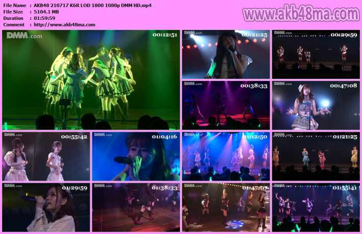 AKB48 210717 K6R LOD 1800
