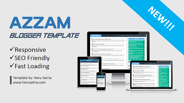Azzam Blogger Template