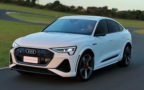 Audi e-tron S Sportback tem preço mantido em  R$ 780 mil até outubro