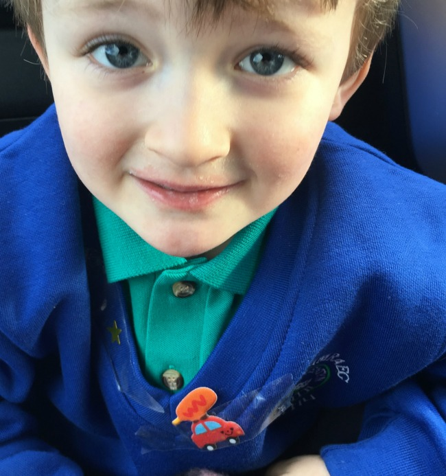 close-up-of-boy-with-blue-jumper-and-badge