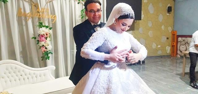 تهنئة للعروسين ندي وايمن