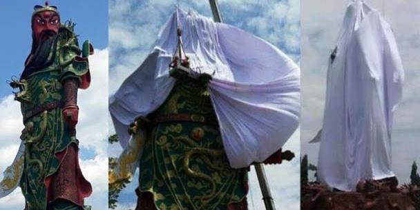 Jangan Samakan Pendirian Patung Jendral China dengan Pendirian Rumah Ibadah!